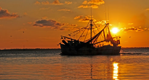 ShrimpBoatSunset 5052 494
